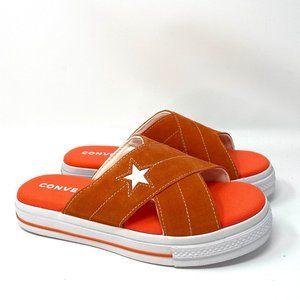 Converse  ONE STAR SANDAL Suede Orange W
